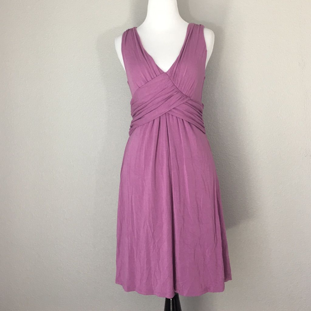 Nu collective short maxi dress purple size s nwt products