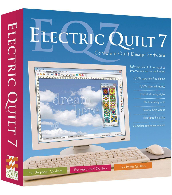 Electric Quilt 7 Quilt Design Software | Electric quilt, Quilt ... : the electric quilt company - Adamdwight.com