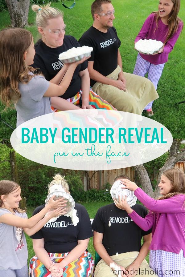 Pink Oder Blau Baby Gender Reveal Party Torte Im Gesicht Einfaches Baby Geschlecht Decken Id Gender Reveal Kids Baby Gender Reveal Party Baby Gender Reveal