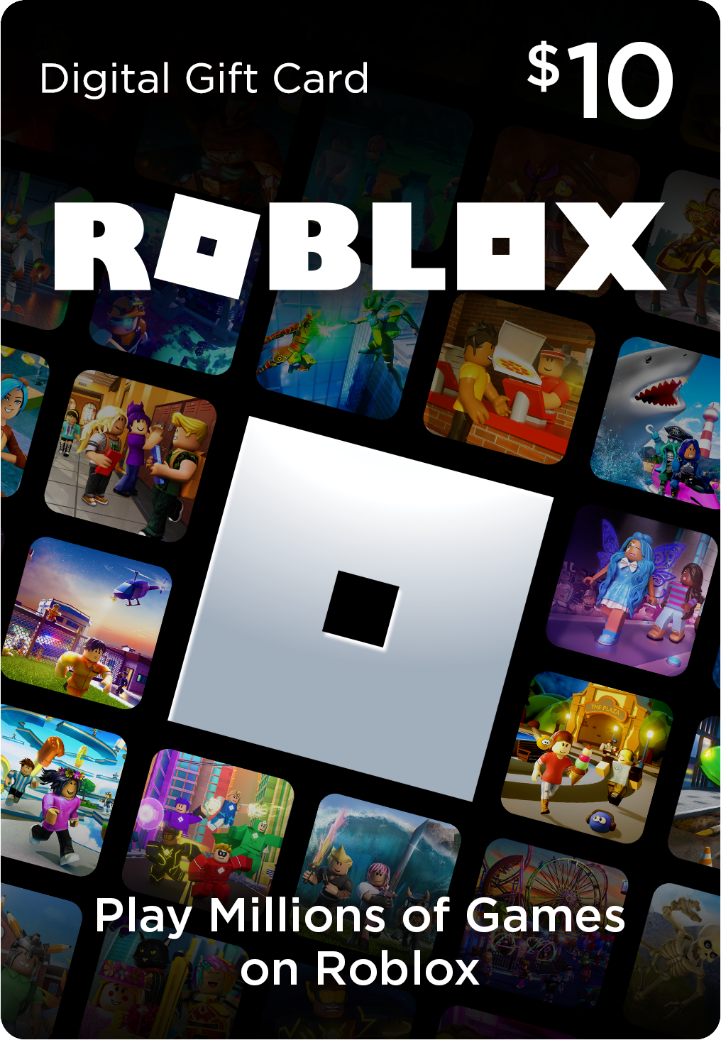 Roblox 10 Digital Gift Card Includes Exclusive Virtual Item Digital Download Walmart Com In 2021 Roblox Gifts Xbox Gift Card Gift Card Generator