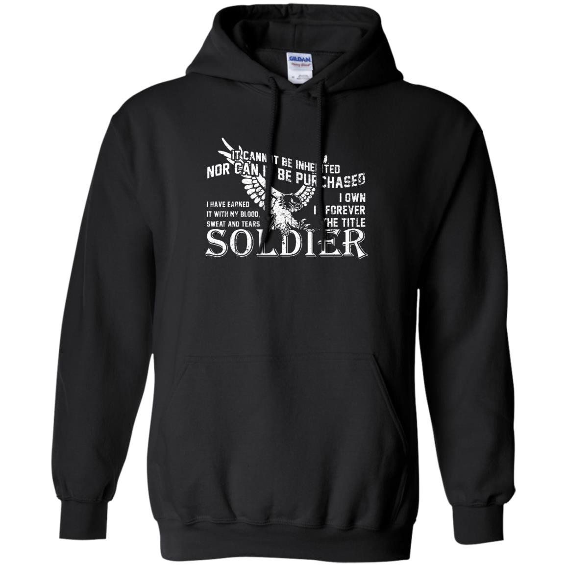 Soldier veteran tshirts Soldier Forever The Title TShirt
