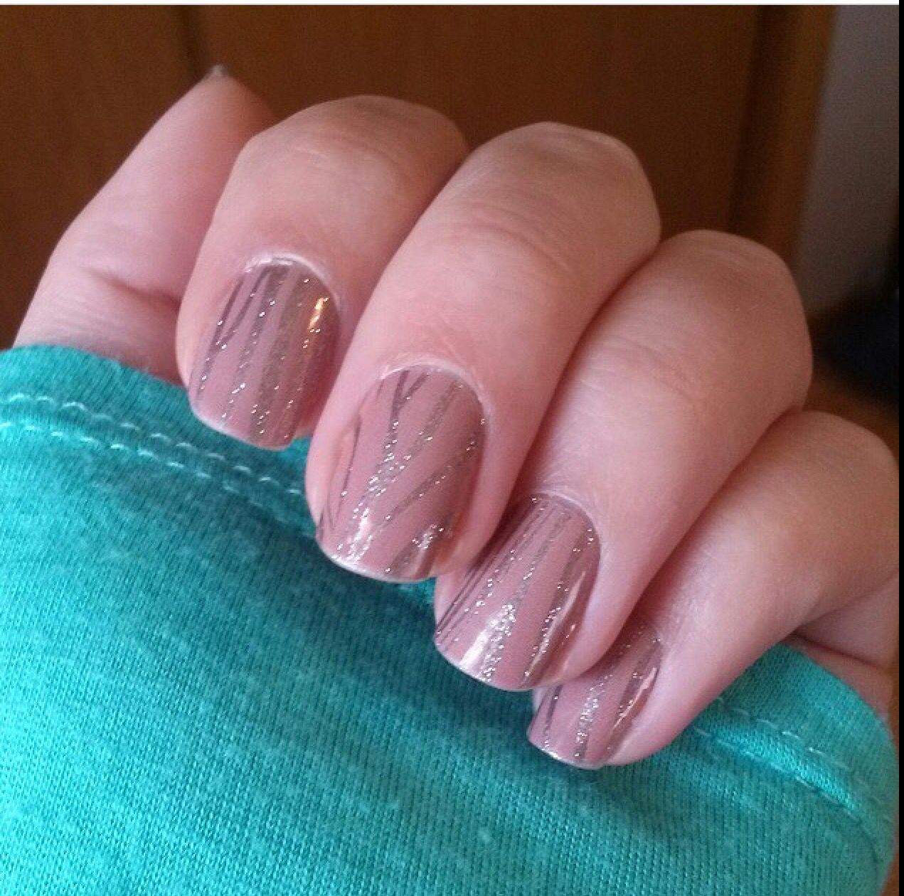 Pretty Nail Wraps You Can Apply Easily At Home. #nailart