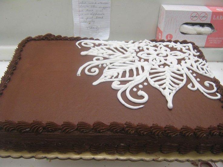 Buttercream Designs 2sheet Buttercream Cake Gallery