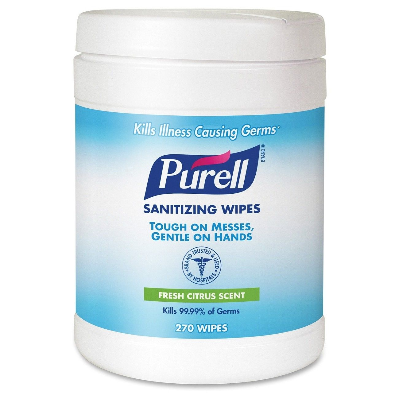 Purell Sanitizing Wipes White Gojo Goj911306 Hand Sanitizer