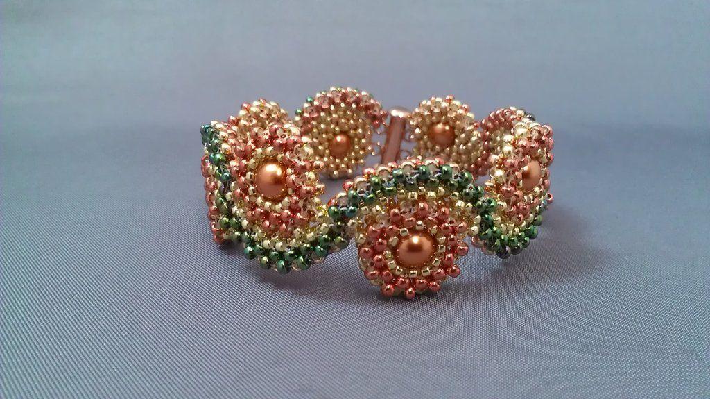 Round and Round Bracelet by beadg1rl