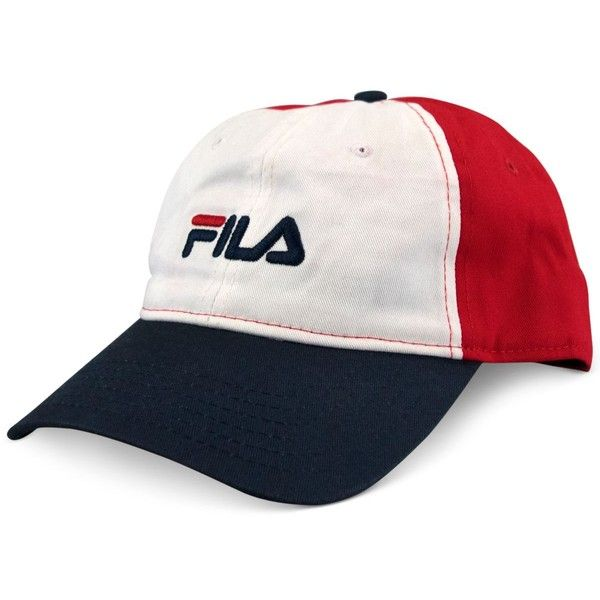 ee9c32028aa Fila Women s Small Logo Hat ( 17) ❤ liked on Polyvore featuring accessories  and hats