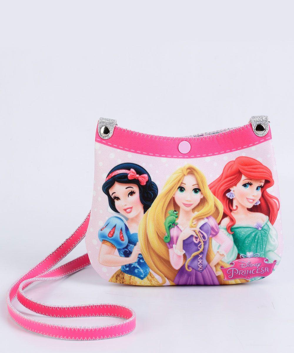 4b51a50a3 Image_Kit Bolsa Cinto Infantil Estampa Princesas Disney   Bolsinhas ...