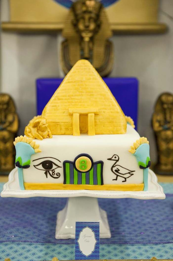 Egyptian Birthday Party Planning Ideas Cake Decorations Supplies