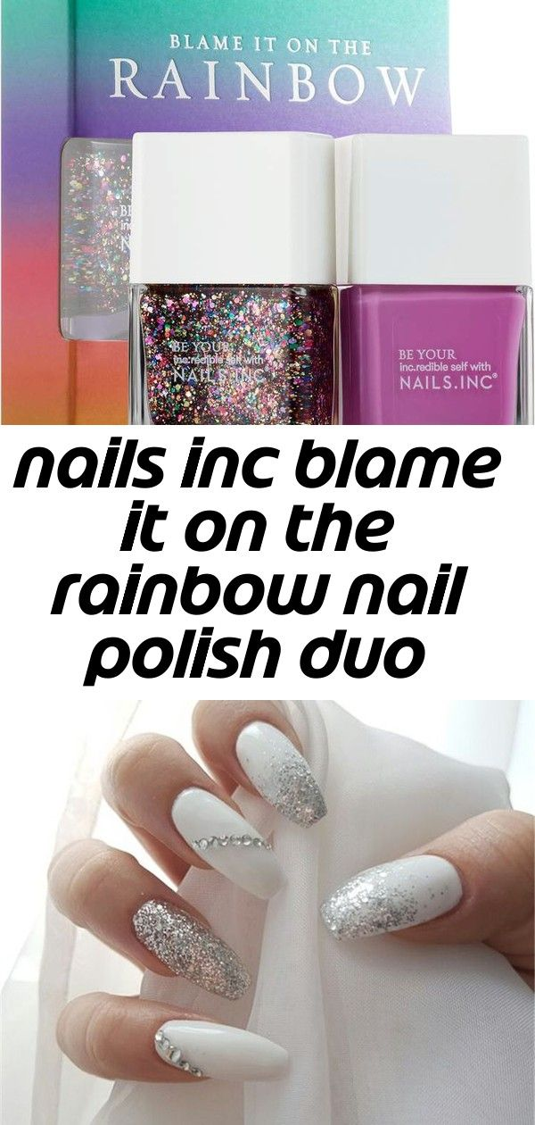 Nails inc blame it on the rainbow nail polish duo Nails Inc Blame It On The Rainbow Nail Polish Duo 20+ Elegant Long White Coffin Nail Ideas, Coffin Nails, Acrylic nails, Summer Nails, White Coffin Nail, Ombre oval nails, Are you looking for nails summer designs easy that are excelle... - Wedding Nails Purple New Years 55+ Ideas
