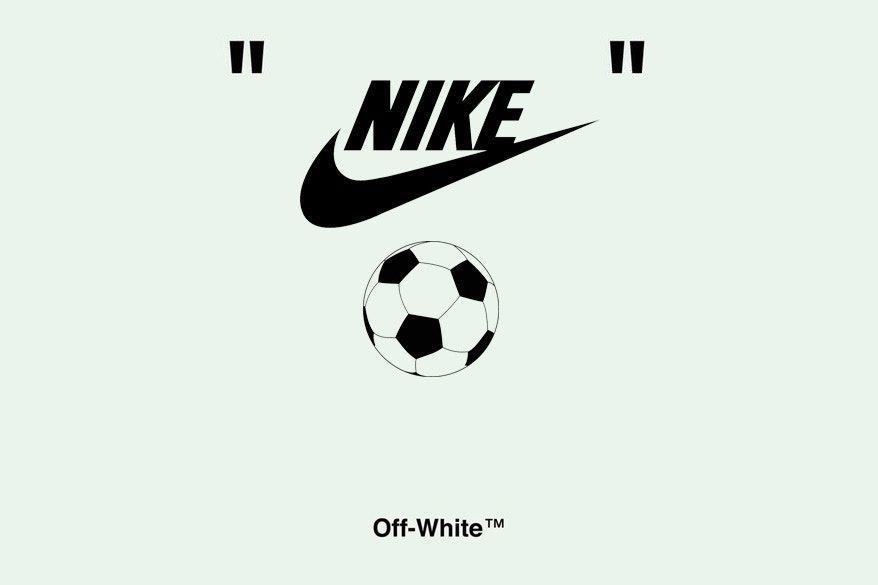 promo code 33312 ef342 Virgil Abloh Off-White x Nike World Cup Soccer | HYPEBEAST ...