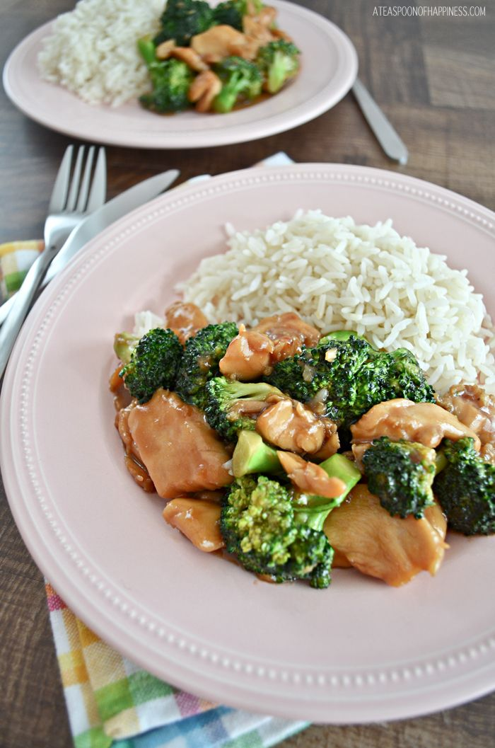 Chinese Chicken And Broccoli Recipe Meals Pinterest Chinese
