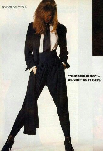 Vogue US 1988 Opposites Attract Photo Irving Penn Model Cordula Reyer Hair Eric Gabriel Makeup Kevyn Aucoin