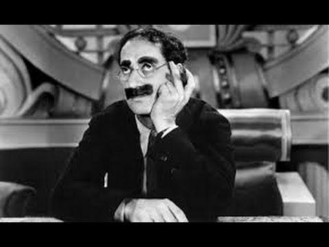 GROUCHO MARX  (PELICULA COMPLETA)  - audio español -  homenaje de mil so...