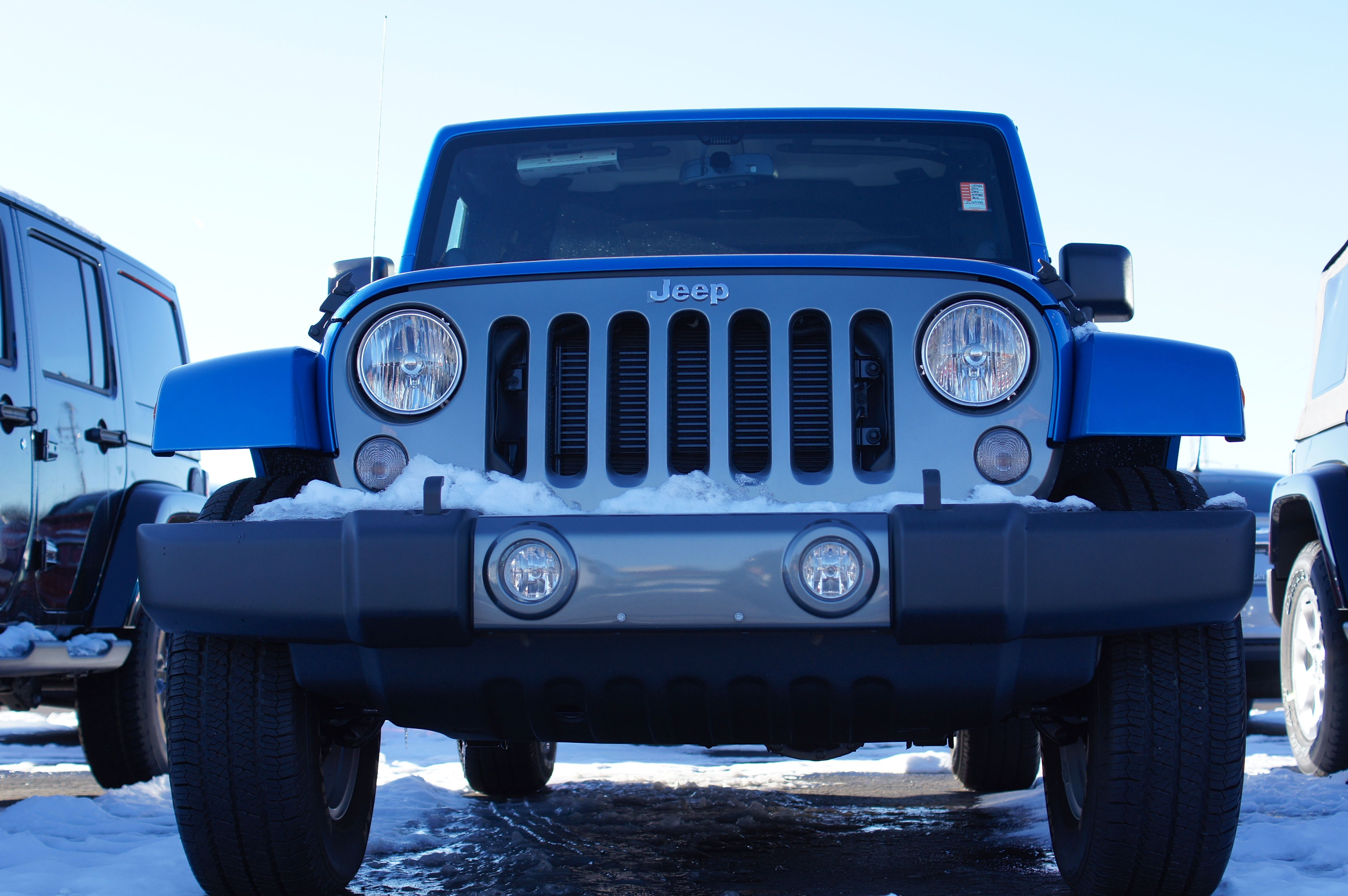 Celebrate Freedom. Jeep Wrangler Unlimited Freedom Edition