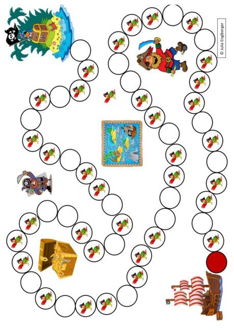 Spielplan Piraten - Kindersprache | PIRATA | Pinterest | Piratas ...