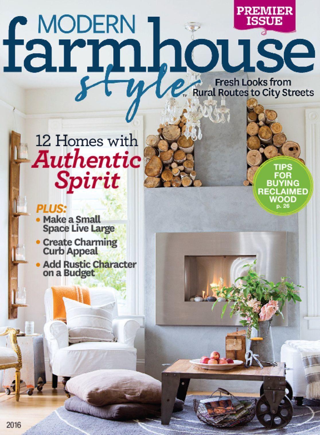 Modern Farmhouse Style Magazine Digital Modern Farmhouse Style
