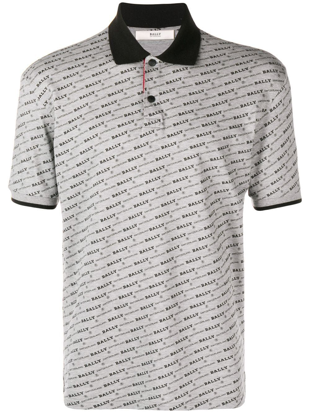 efc1f259f BALLY BALLY MONOGRAM POLO SHIRT - GREY. #bally #cloth | Bally in ...