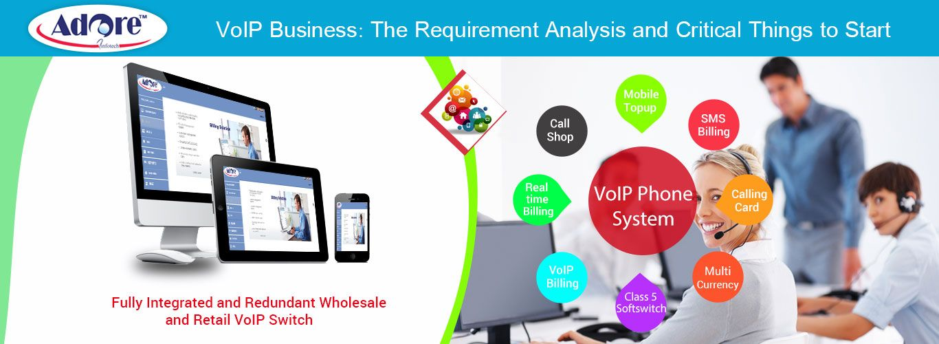 VoIP Business The Requirement Analysis and Critical