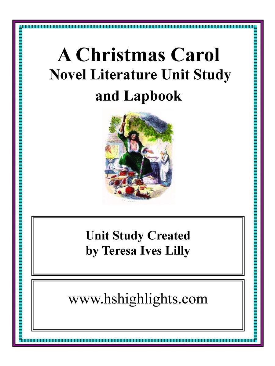 Charles Dickens A Christmas Carol ~ Lesson Ideas | Dickens christmas carol, Christmas carol, A ...