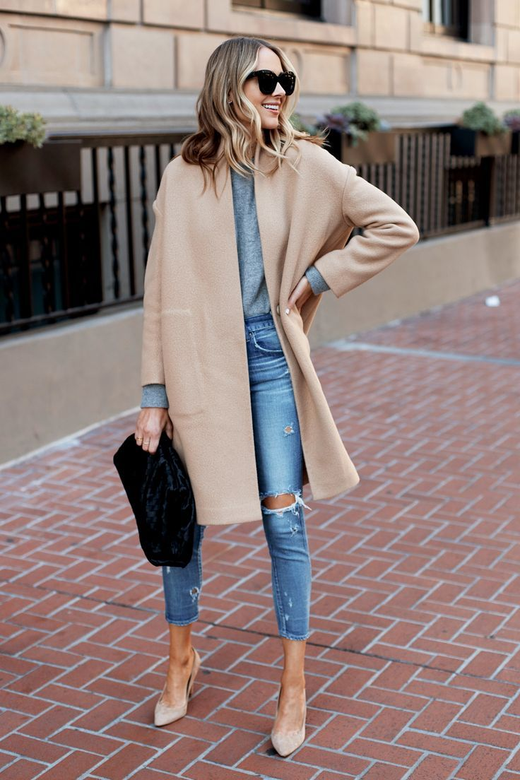 If You're Going to Splurgeon a Classic Camel Coat,Make it This One | Fashion Jackson