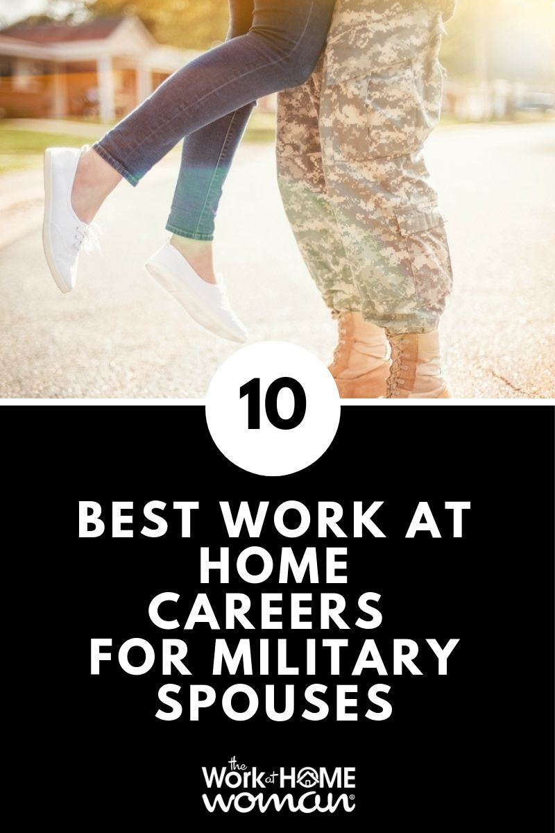 The 10 Best WorkatHome Careers for Military Spouses