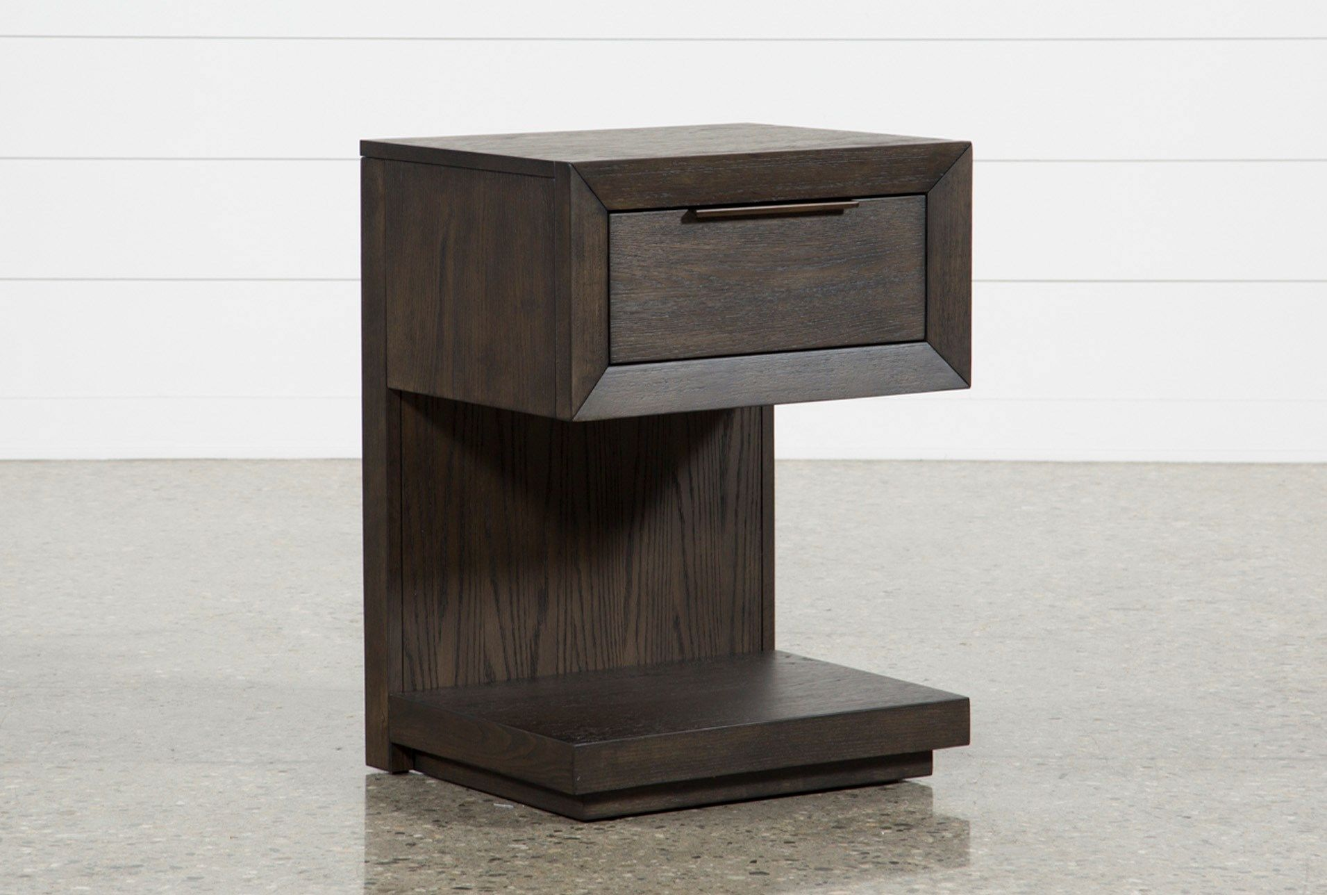 Pierce 1 Drawer Nightstand With Usb And Power Outlets With Images