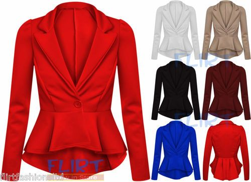 Images of Red Blazers For Women - Reikian