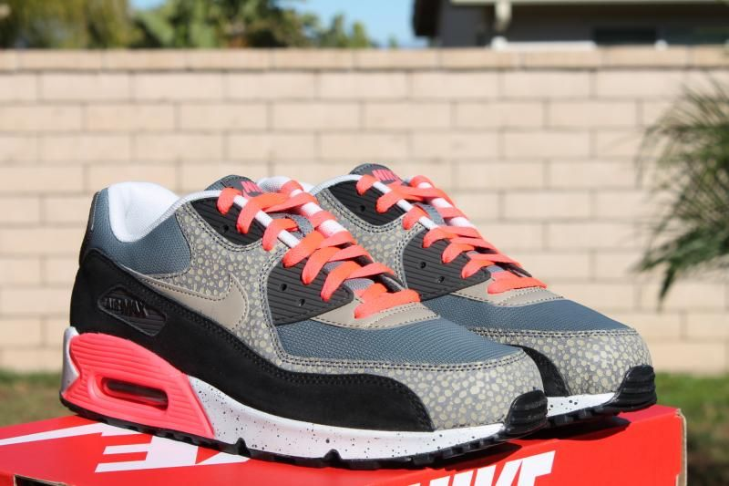 best cheap 95b2b 6d2ce NIKE AIR MAX 90 PREMIUM SAFARI PACK INFRARED GREY BAMBOO ASH  140
