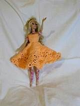 Free crochet barbie doll clothes crochet barbie pinterest free crochet pattern barbie doll ruffle dress from the barbie dt1010fo