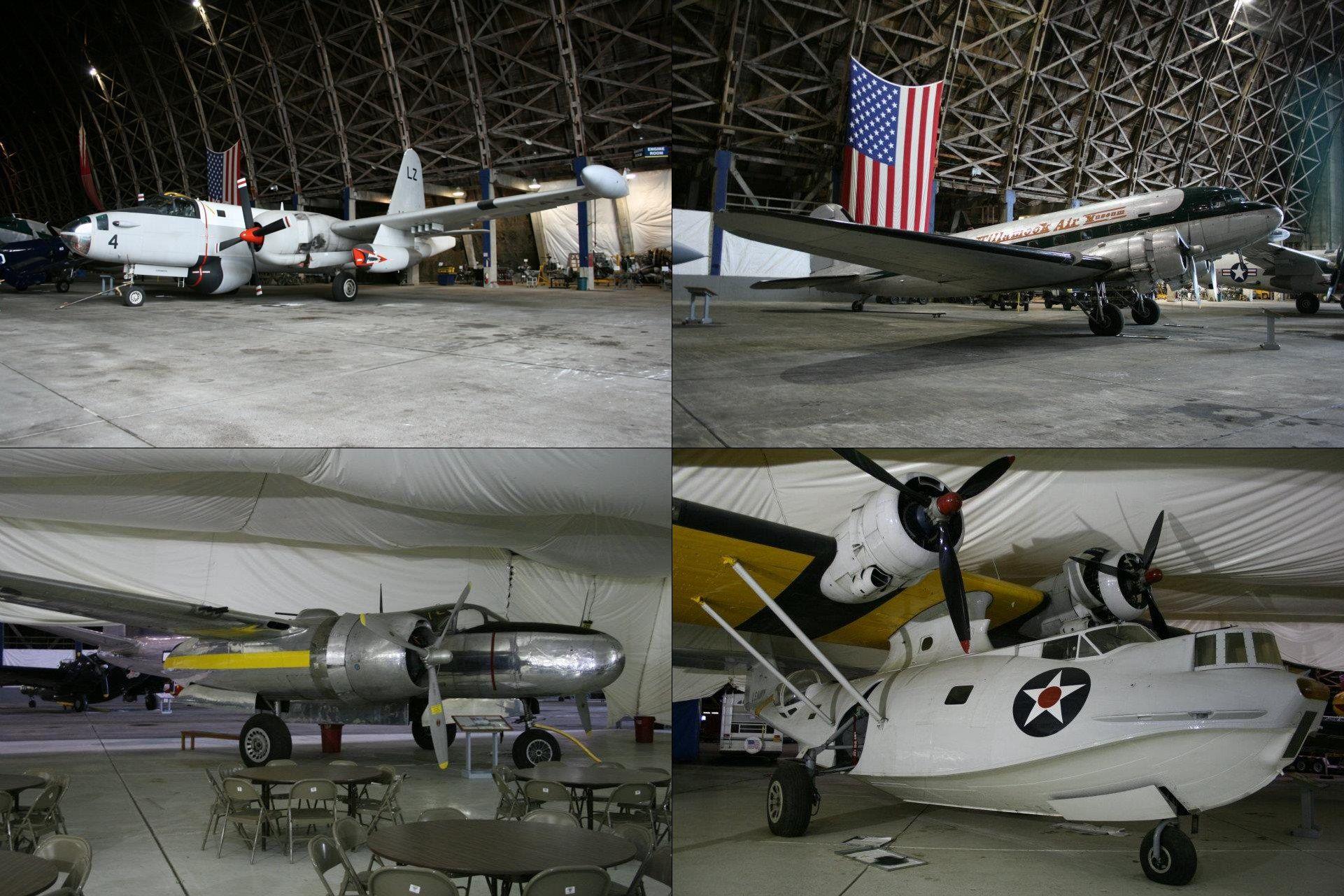 "Tillamook Air Museum and the Giant Hangar ""B"" Museum"