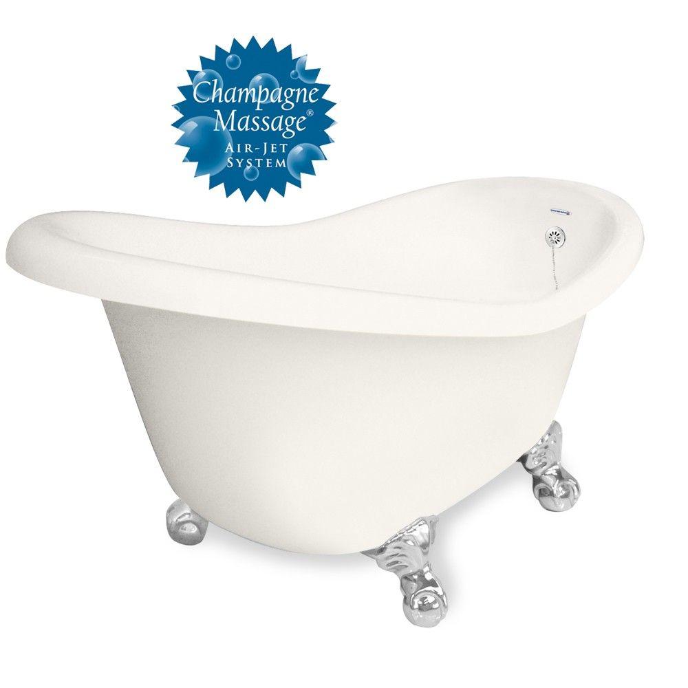 American Bath Factory Chelsea Clawfoot Tub 60 In