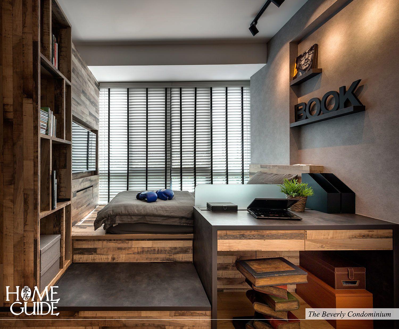 Modern Industrial-rustic Interior Design Concept