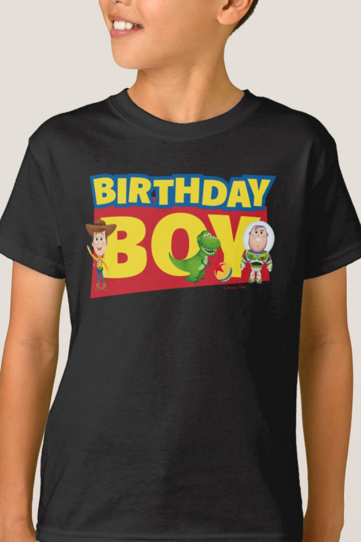 Toy Story Woody I am any age Today T-Shirt Boys Girls Kids Age 3-15 Ideal Gift