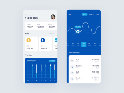 App for saving cryptocurrency