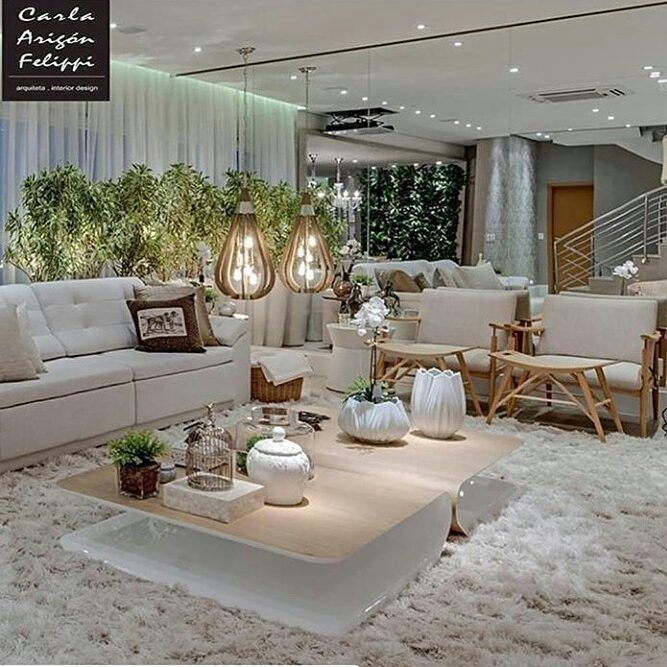 Sala maravilhosa luxo essa mesa de centro sof tudo - Mesas de centro pequenas ...