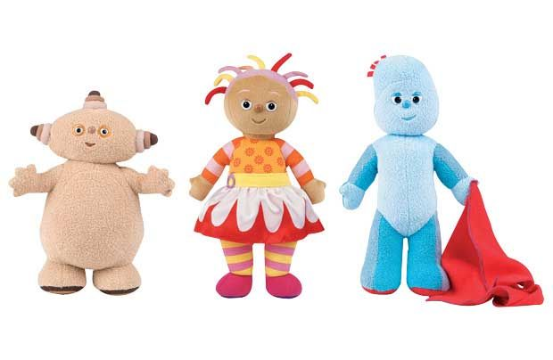 Meet The Characters In The Night Garden Igglepiggle Child Cute