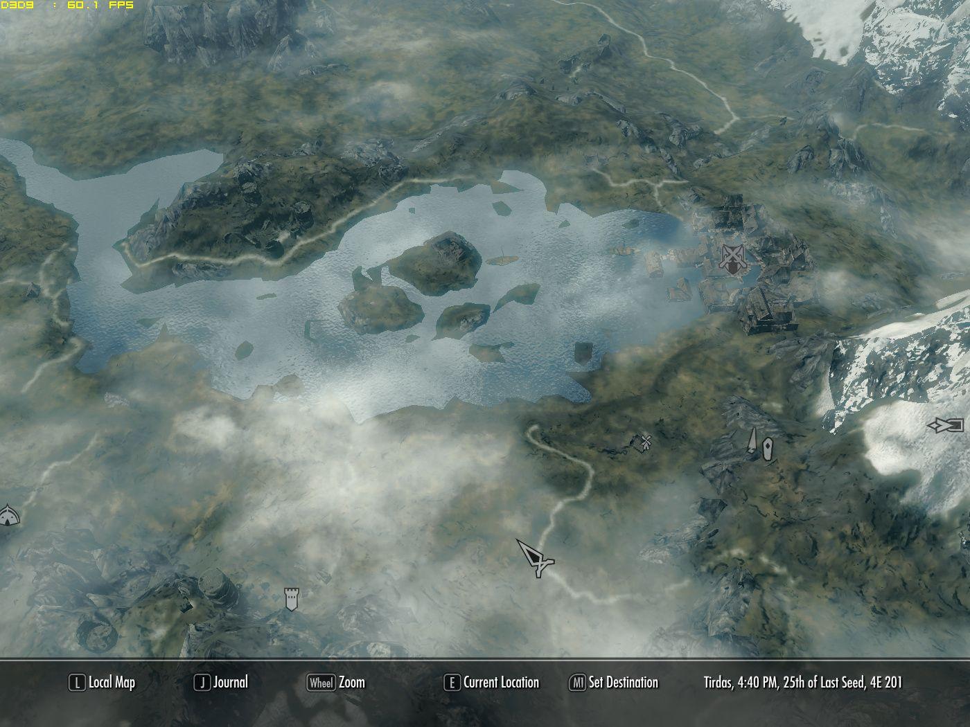 High Quality 3D Map at Skyrim Nexus - mods and community | Skyrim ...