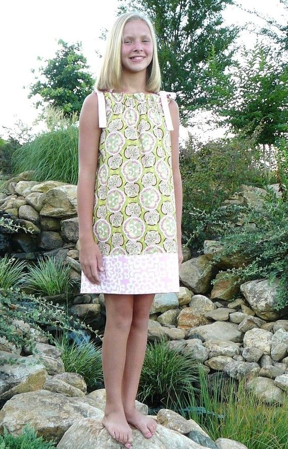 Tween Sun Dress Jumper or Sundress PDF Sewing Pattern | Pdf sewing ...