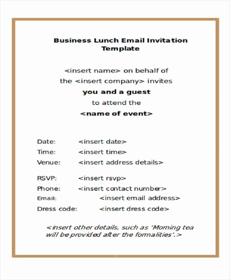 Lunch Invitation Email Template from i.pinimg.com