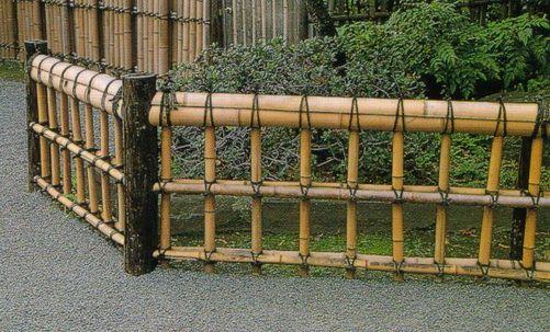 Bamboo Fencing 日本庭園 生垣 庭