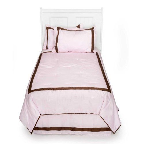 Luxe Pink 4 Piece Twin Bedding by Kidsline by KidsLine. $69.95