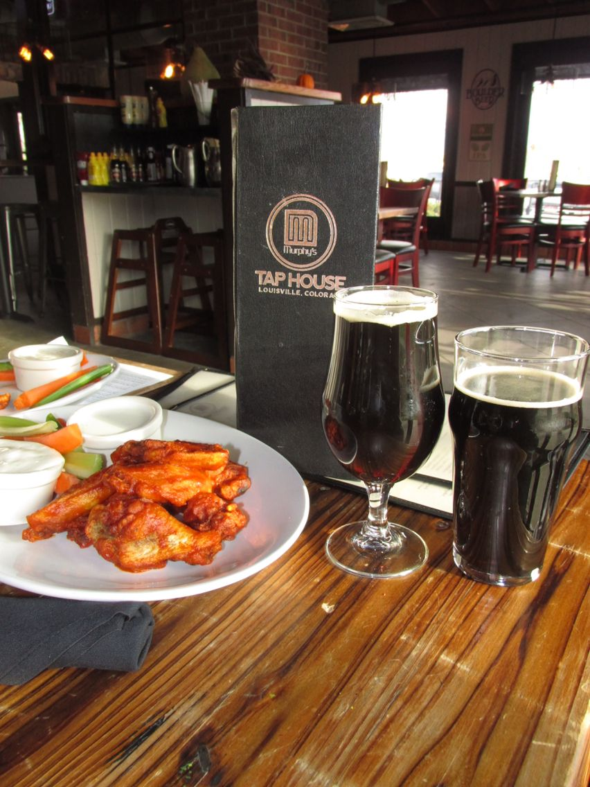 Good beer and good food at the Taphouse in Louisville CO!