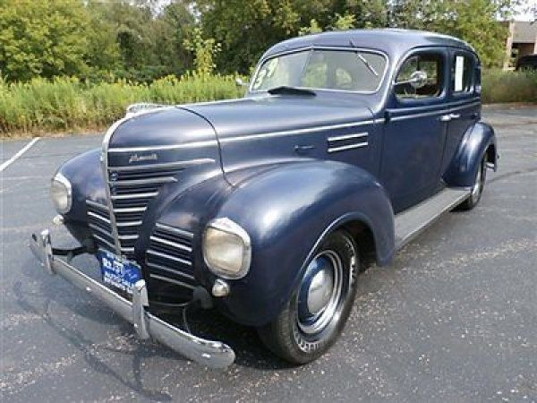 1939 Plymouth Sedan.