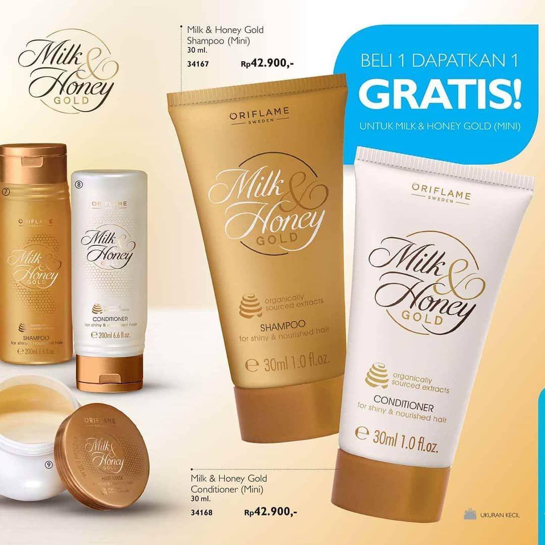 Shampo dan Conditioner Milk and Honey MINI Ucapkan selamat