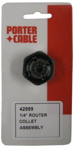 Porter Cable 42999 1 4 Inch Self Releasing Collet Porter Cable Porter Cable Router Cable