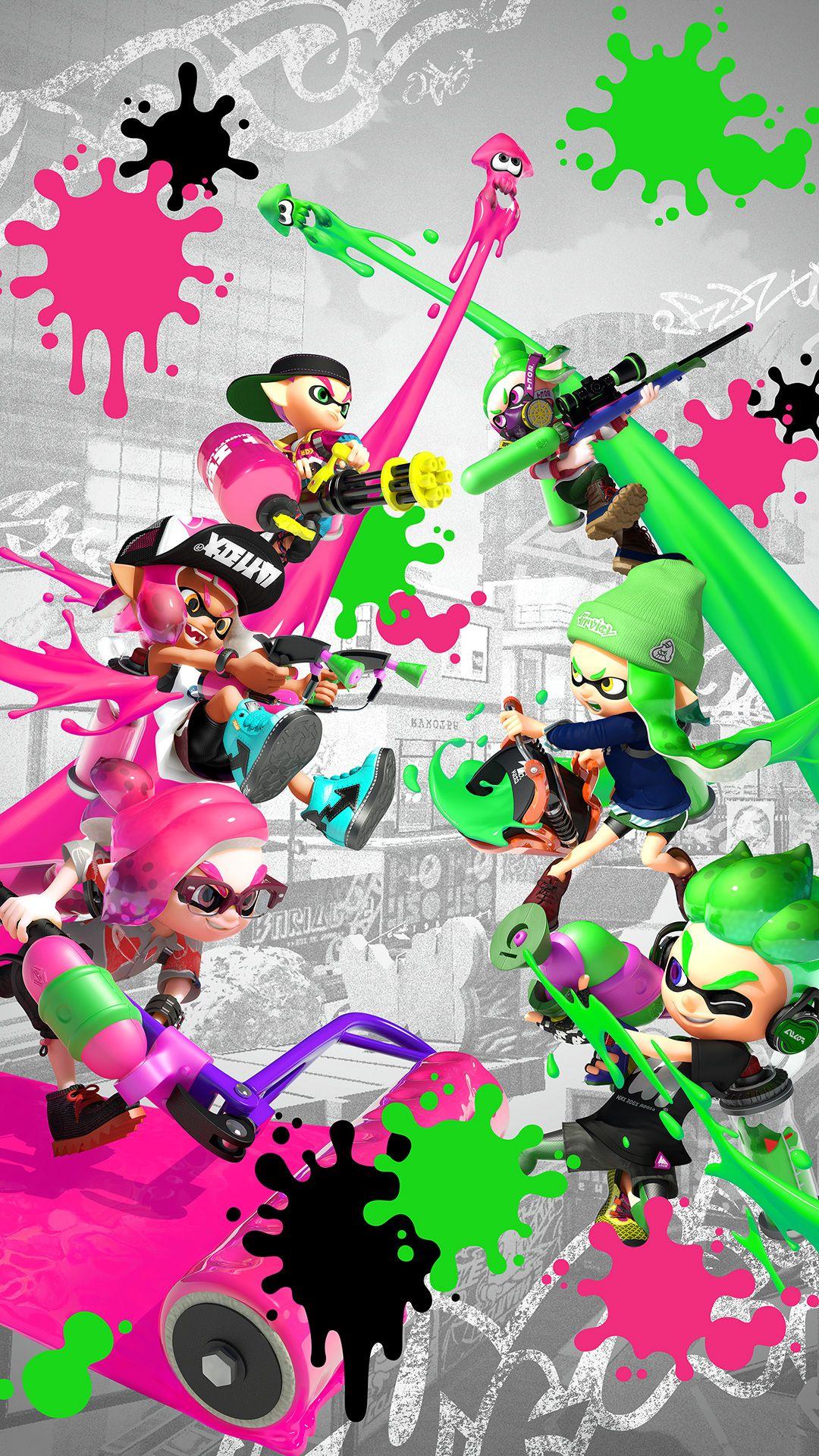 Splatoon 2 Wallpapers Ninmobilenews Splatoon Nintendo Splatoon Iphone Wallpaper