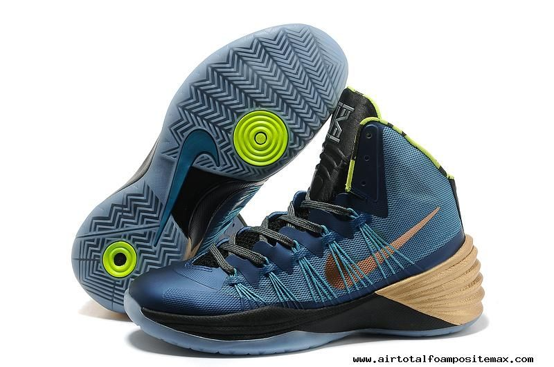 2014 Nike Hyperdunk 2013 Kyrie Irving Mineral Teal / Metallic Red Bronze /  Volt For Wholesale