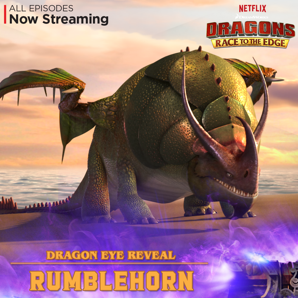 The Bloodhound Of Dragons, The Rumblehorn Is Known Best For It's Ability To  Find Anything