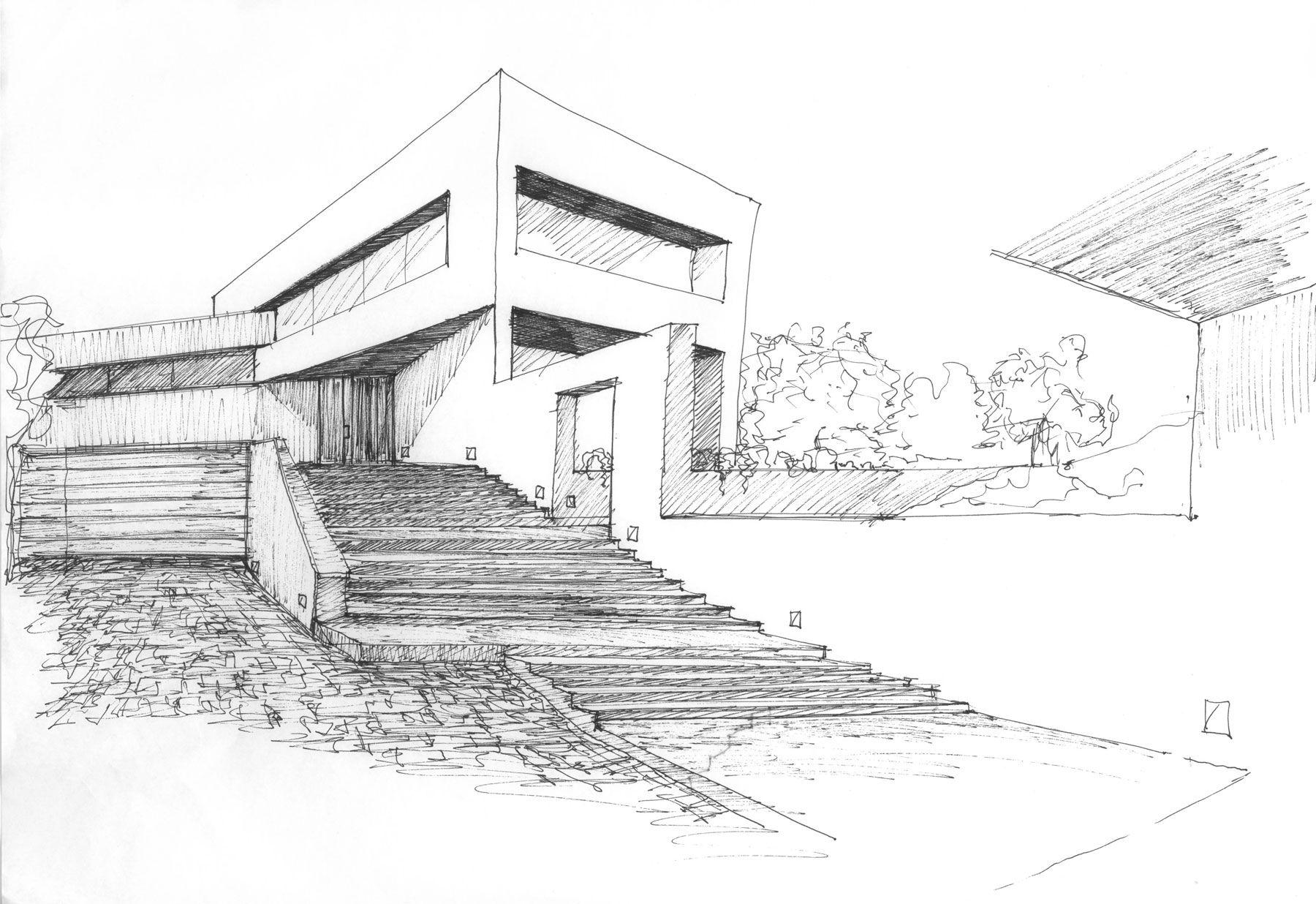 Resultado De Imagen Para Modern Architecture Sketches