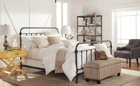 harlow panel bed in 2019 furniture fixtures antique iron beds rh pinterest com